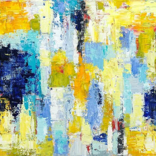 """Lene Schmidt-Petersen: Komposition """"Pietas"""" (80x60 cm)"""