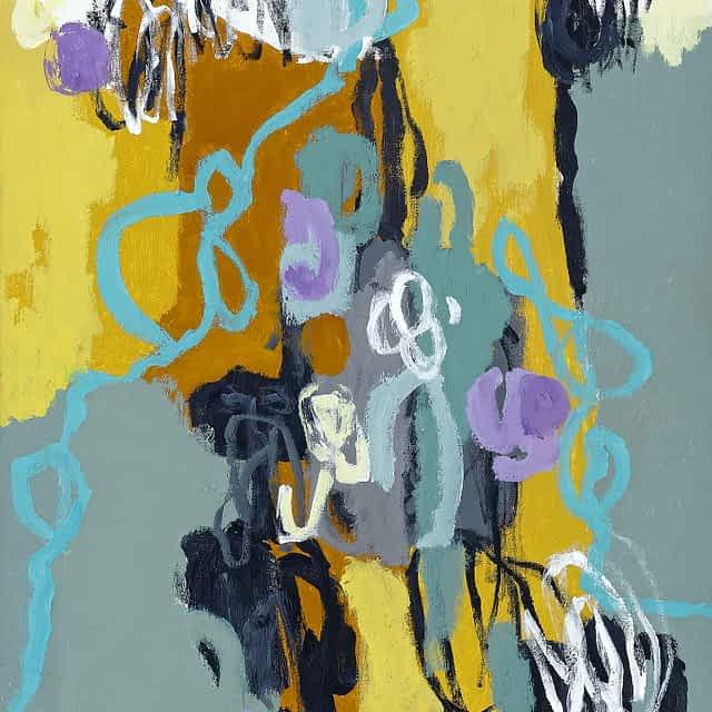 "Lene Schmidt-Petersen: ""Selvets åbning i nærværet"" (60x80 cm)"