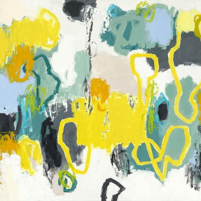 """Lene Schmidt-Petersen: """"Elsk og lyset vil skinne på dig"""" (120x90 cm)"""