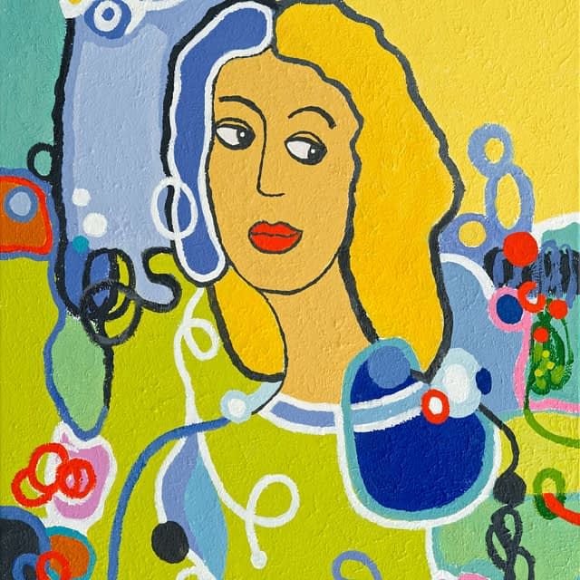 "Lene Schmidt-Petersen: ""Hannah"" (60 x 80 cm)"