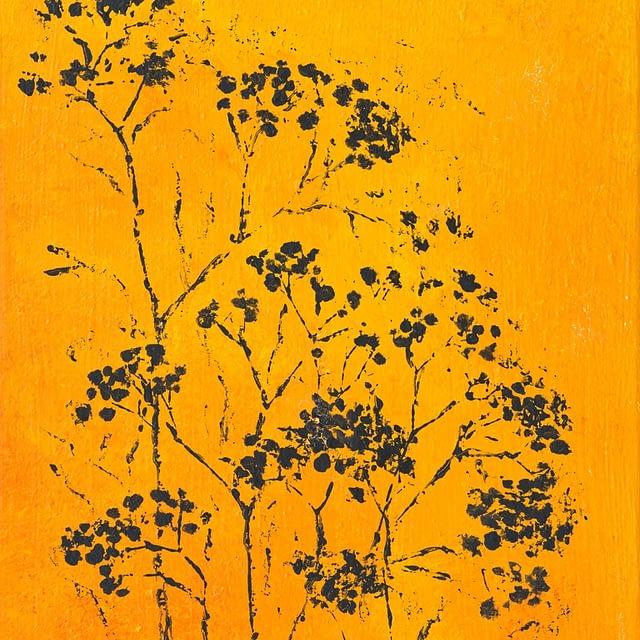 """Lene Schmidt-Petersen: """"Det lille mylder"""" (30 x 40 cm)"""