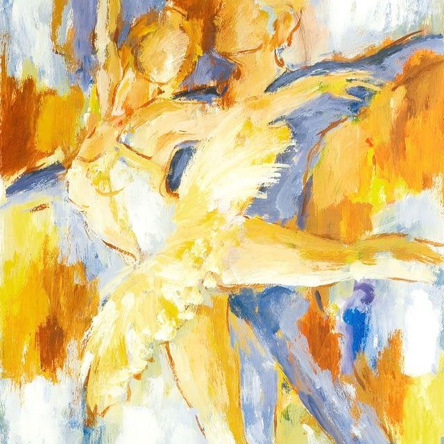 "Lene Schmidt-Petersen: ""Tones from the loving space"" (45 x 58 cm)"
