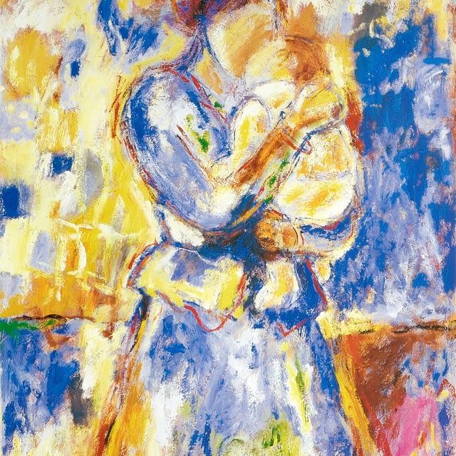 """Lene Schmidt-Petersen: """"I love you forever"""" (44 x 58 cm)"""