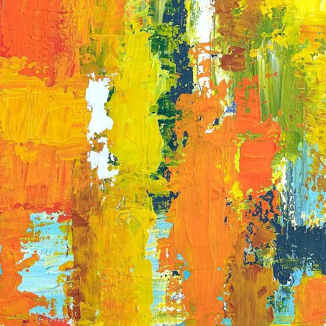 "Lene Schmidt-Petersen: Komposition ""Empanda"" (25x50 cm)"