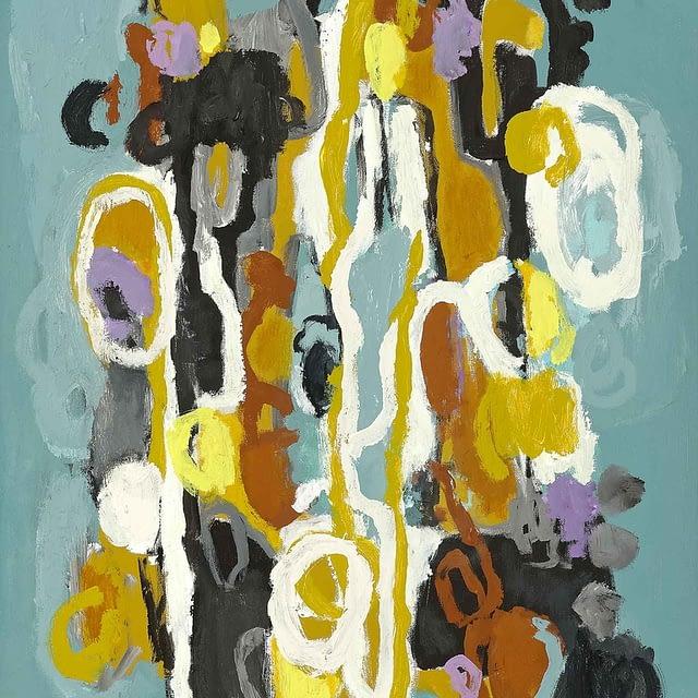 "Lene Schmidt-Petersen: ""Forståelse for sandheden (B)"" (60x80 cm)"