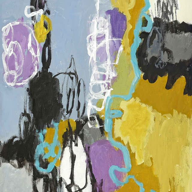 "Lene Schmidt-Petersen: ""Nænsom tilstedeværelse"" (60x80 cm)"