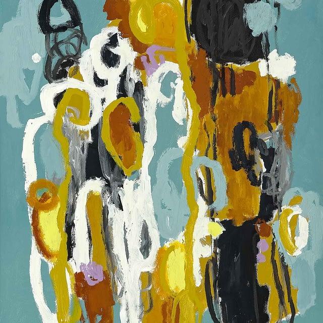 """Lene Schmidt-Petersen: """"Forståelse for sandheden (A)"""" (60x80 cm)"""